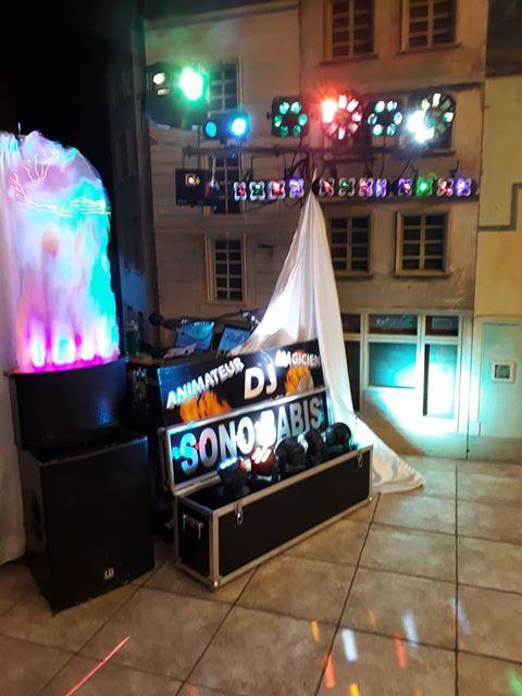 DJ SONO BABIS du spectacle personnage aussi pour anniversaire animé par un artiste ultra polyvalent pour mariage et fête d'enfant