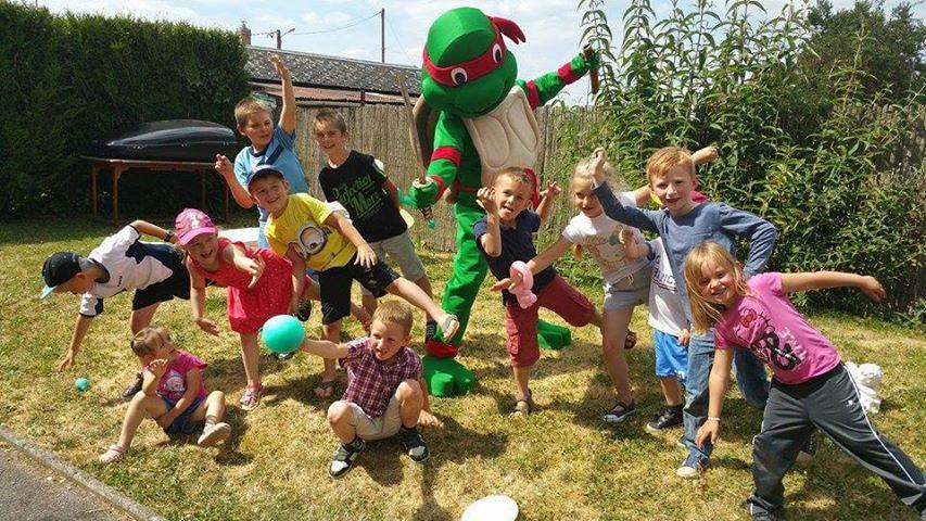 ANNIVERSAIRE ENFANTS tortue ninja