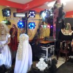 decoration halloween sono babis sorciere horreur monstre spectacle