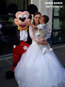 MICKEY EN MARIAGE mariage sono babis