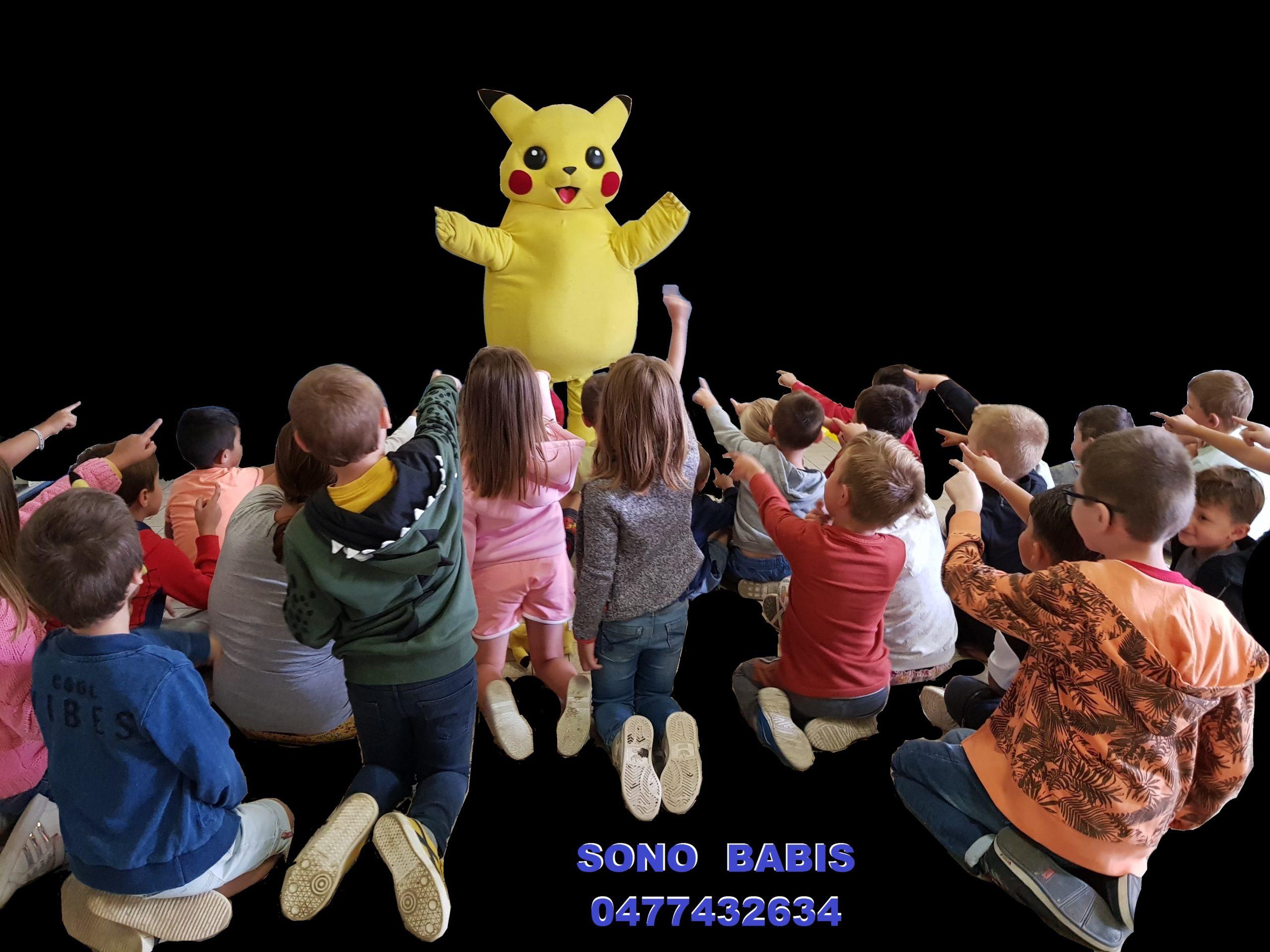 pokemon PICACHU sono babis