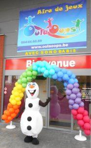 entreprise animation spectacle porte ouverte sono babis personnage mascotte ballon et magie artiste jeux